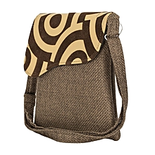 Brown African Sling Bag