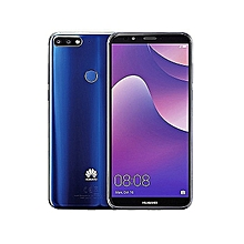 Y7 Prime (2018) - 32GB -3GB RAM - 13MP Camera - 4G - Dual SIM-Blue