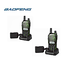 Baofeng UV82 ( 2pcs ) Walkie Talkie UV 82 Radio VHF UHF Dual Band High Power