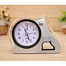 Creative Alarm Clock Modern Style Desk Clock Home Office Decor