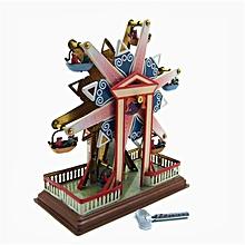 Sky Steel Classic Vintage Clockwork Wind Up Children Kids Tin Toys With Key-