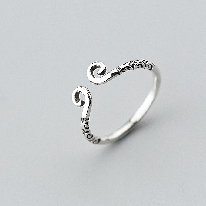 9951367652d Love you for 10,000 years 925 pure silver the tight hoop curse a good  lovers ring of gold hoop men and women a rightness of sovereign treasures  ...