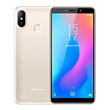C2, 2GB+16GB, Face ID & Fingerprint Unlock, 5.5 inch Android 8.1 MTK6739 Quad Core up to 1.3GHz, Network: 4G, OTG, Dual SIM, OTA(Champagne Gold)