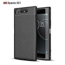 Ultra-Thin Protective Phone Cover Rubber-Case Gel Soft Skin, Shockproof Slim Back Bumper Protector Back-Case Shell For Sony Xperia XZ1  (Black)