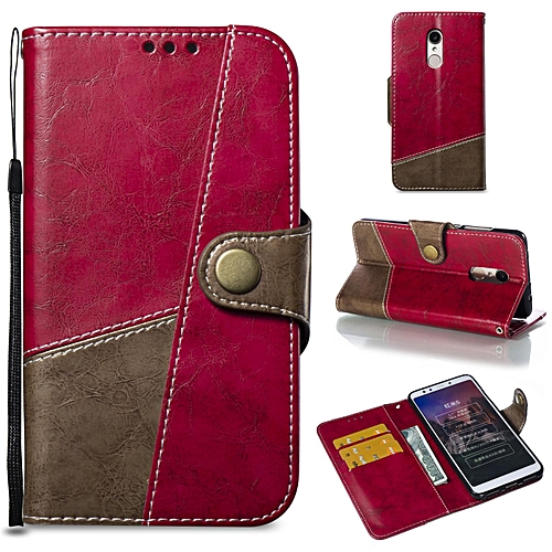 quality design 4b8fa 3b9a2 Case For Xiaomi Redmi 5 Leather Flip Cover Phone Case Wallet Card Holder  For Xiaomi Redmi 5 (Red)