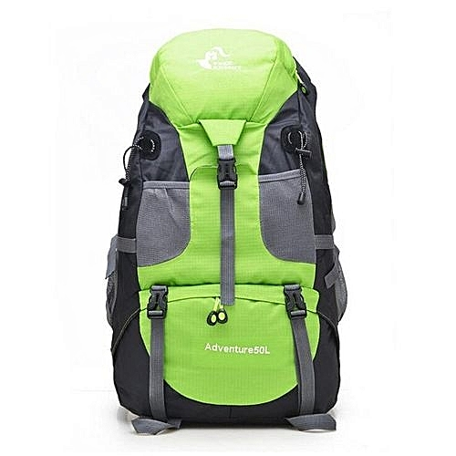 36e333f91449 Fashion Free Knight 50L Waterproof Nylon Unisex Outdoor Camping Hiking  Climbing Mountaineering Backpack Foldable Travel Sport Bags(Green)