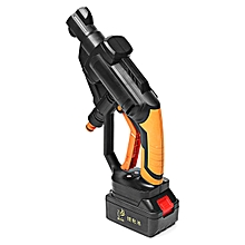 21V Portable Car Cordless Pressure Cleaner Washer Pipe Power +Li-ion Battery