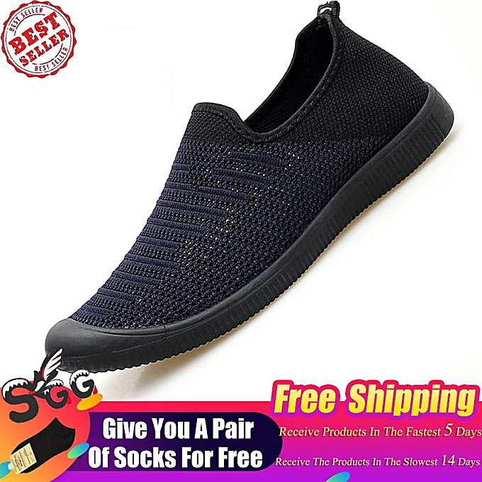 dbe77931a1 Free Shipping SGG 2019 Men Outdoor Comfortable Sneakers Fashion Sport Shoes  Man Slip-on Breathable Hiking Sneakers