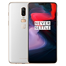 OnePlus 6, 8GB+128GB, Dual Back Cameras, Face & Fingerprint Identification, 6.28 inch 2.5D H2OS 5.1 (Android 8.1) Qualcomm Snapdragon 845 Octa Core up to 2.8GHz, NFC, Bluetooth 5.0, Network: 4G(White)