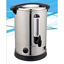 Commercial Catering Tea Coffee Beverage Urn Stainless Steel Water Boiler, 10L