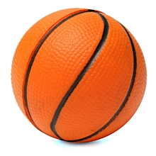 Soft Sponge Foam Stress Relief Press Squeeze Bouncy Ball Kids Educational Toy Basketball