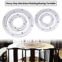 Heavy Duty Aluminium Alloy Rotating Bearing Turntable Round Table Smooth Swivel Plate 10 Inch