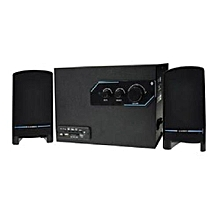SP-226 CHANNEL 2.1 Speakers BLUETOOTH-USB-SD-AUX-FM - Black