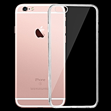 For IPhone 6 & 6s 0.75mm Ultra-thin Transparent TPU Protective Case(Transparent)