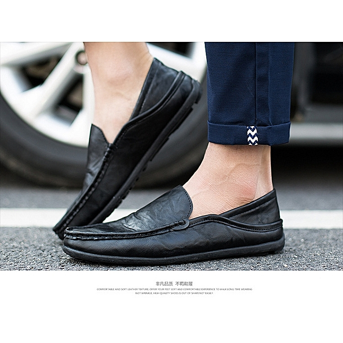 cf31c7e59 Generic 2019 Men s Fashion Loafers Shoes Black   Best Price