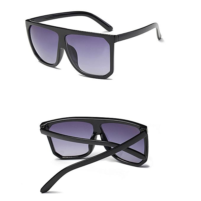 e919112840 Women Men Vintage Retro Square Frame Glasses Unisex Fashion Aviator  Sunglasses ...