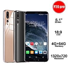 P20 Pro 6.1'' 4G RAM 64G ROM MTK6580A Quad Core Android Smartphone Dual SIM-Black