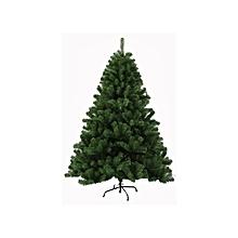 7ft (210cm) Pvc Christmas Tree With 900tips Metal Feet- Green