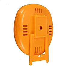 Fridge Thermometer Refrigerator Freezer Indoor Outdoor Home Factory Thermograph Orange