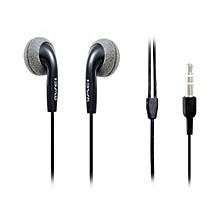 ES10 - Stereo Earphones - Black