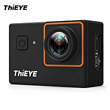 """ThiEYE i30+ 4K 12MP WiFi Action Camera 197ft Waterproof Sports Camcorder 2.0"""" LCD 170� Wide Angle APP Control & Full Accessories WWD"""