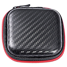 KZEarphones Accessory Portable Storage Zipper Box-BLACK