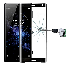 For Sony Xperia XZ2 0.3mm 9H Surface Hardness 3D Full Screen Tempered Glass Film