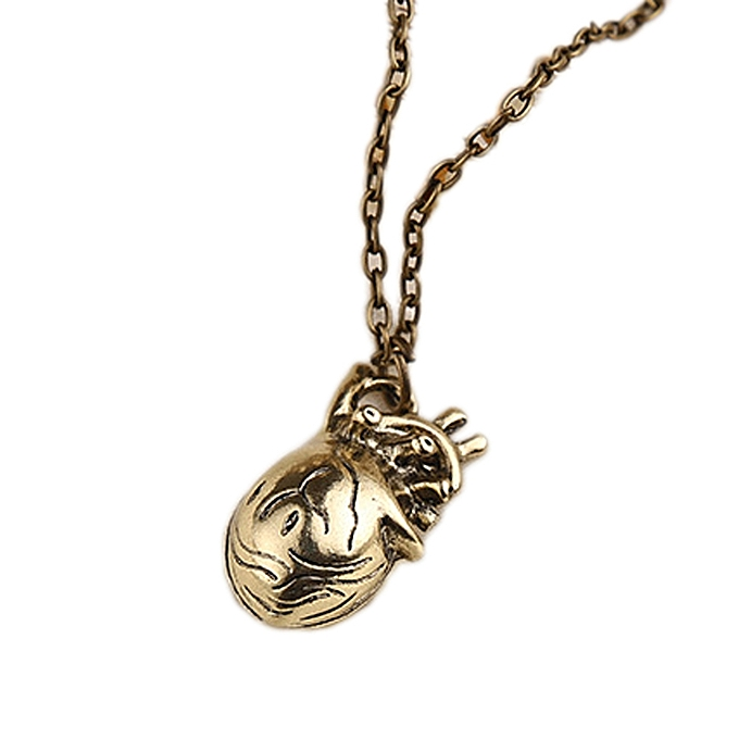 Buy Fashion New Man Anatomy Heart Necklace Heart Pendant Necklace ...