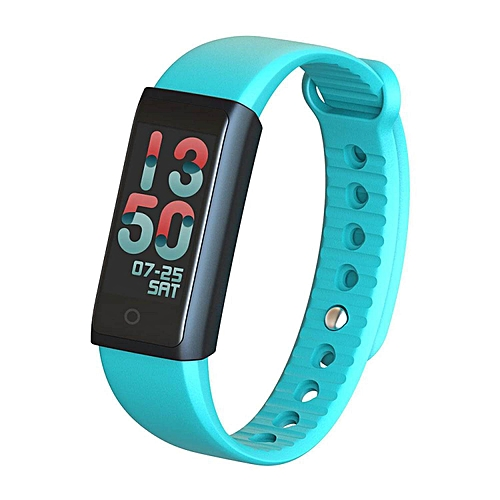 Lebaiqi Colorful Fitness Tracker Smart Bracelet With Heart Rate Monitor Blood Pressure Oxygen Sleep