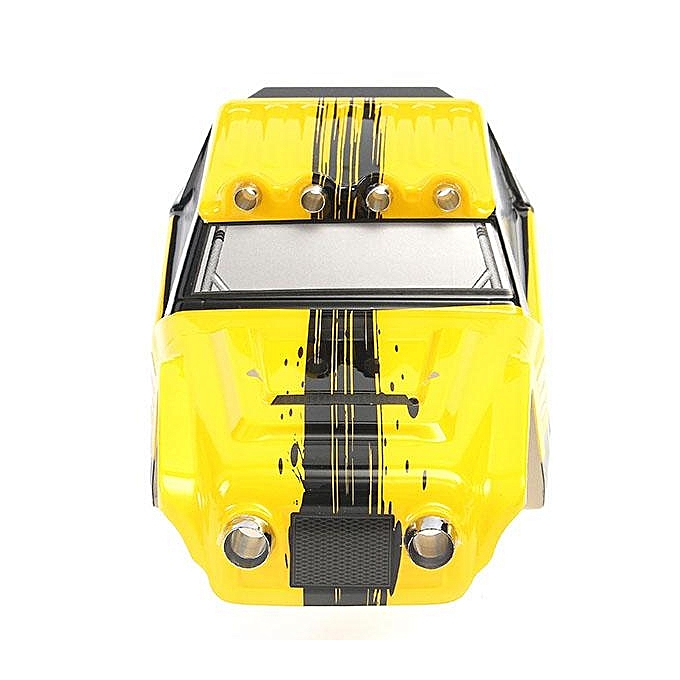 HBX 12891 1/12 DESERTRC Car Yellow Body Shell 891-B001 RC Car Parts
