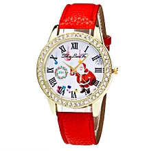 Christmas Gifts Watch Candy Color Male And Female Strap Wrist Watch RD