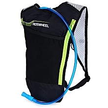5L Bike Hydration Backpack Ultralight Multi-functional Bicycle Bag With 2L Water Bladder-BLACK