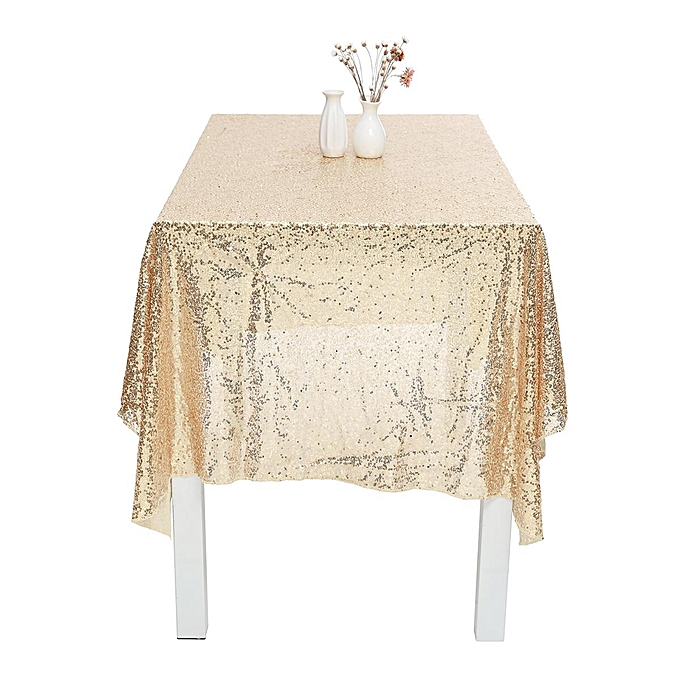 Sparkle 48 X84 Table Cloth Bling Sequin Tablecloth Wedding Event Party Decor