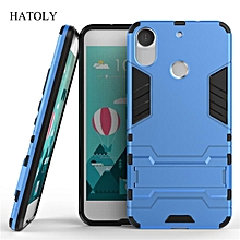 For HTC Desire 10 Pro Case Shockproof Robot Armor Case Hybrid Silicone Rubber Hard Back Phone Cover For HTC Desire 10 Pro 5.5""
