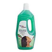Hair Shampoo Apple  -  1 Litre
