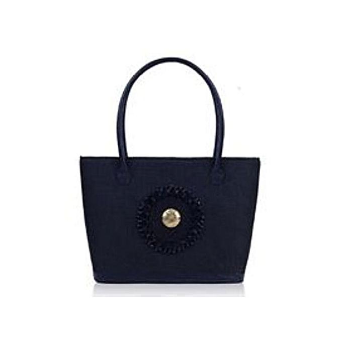 MAASAI COLOUR Black Tsavo Jute Handbag   Best Price   Jumia Kenya 156c1256c7