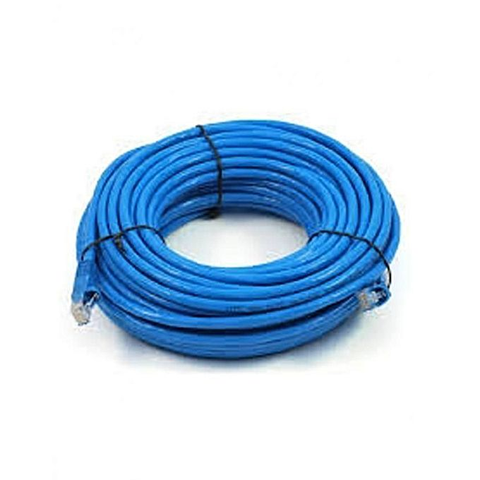 cat6 internet connection cable 20m blue jumia kenya. Black Bedroom Furniture Sets. Home Design Ideas