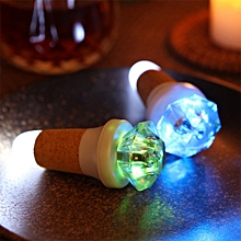 LED  Bottle Light USB Charging Stopper 2PCS - Colorful