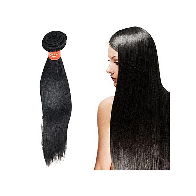 Buy Sanwood 1 Bunch Long Black Straight Virgin Human Hair Natural