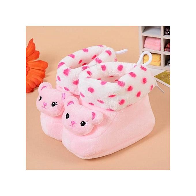Buy Glorystar Fashion Newborn Baby Cartoon Sneaker Shoes Thick Warm