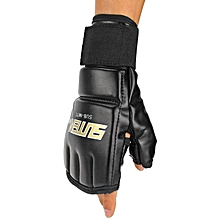 douajso MMA Muay Thai Training Punching Bag Mitts Sparring Boxing Gloves Gym