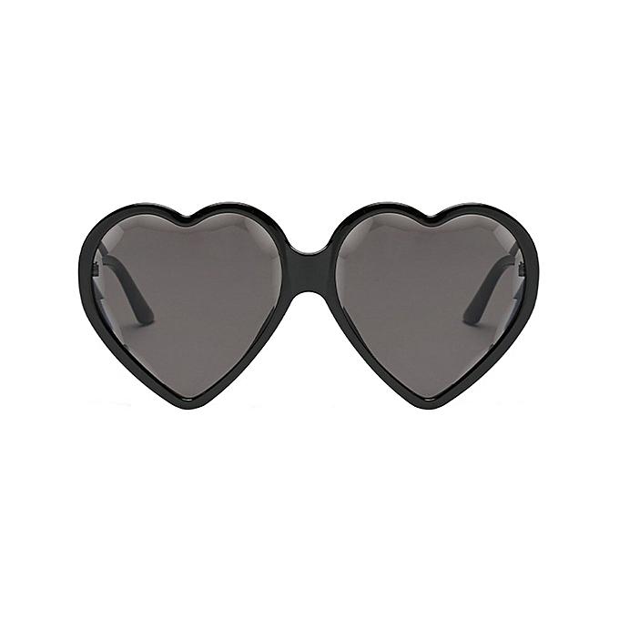 Buy Generic Women Men Fashion Vintage Heart Shape Big Frame ...