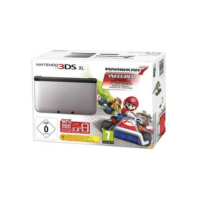 Nintendo nintendo 3ds xl console mario kart 7 bundle buy online jumia kenya - Console 3ds xl blanche avec mario kart 7 ...