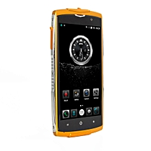 ZOJI-Z7 Quad Core Fingerprint 2GB RAM+16GB ROM Waterproof Smart Phone EU Plug-Orange