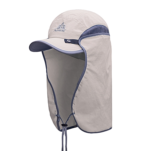 190ea795 AONIJIE Unisex Fishing Hat Sun Visor Cap Hat Outdoor UPF 50 Sun Protection  with Removable Ear Neck Flap Cover For Camping Hiking(Tan.)