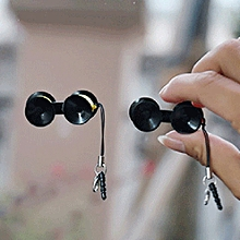 Cute Mini Double-sided Suction Cup Holder Sucker Stand For Mobile Phones