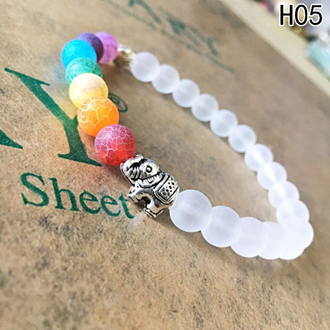 Buy Fashion 7 Chakra Healing Balance Beads Bracelet Yoga Life Energy Bracelet Lovers Casual
