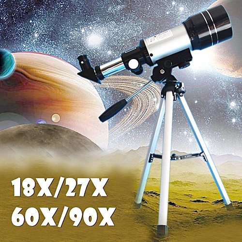 SGODDE F360/50mm Refractive Astronomical Telescope Monocular Space Outdoor  Travel Spotting Telescope Photography 90x