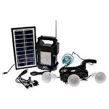 Solar Powered Emergency Lamp - GD 8050