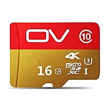 OV 16GB 32GB  MicroSD MicroSDHC Micro SD SDHC Card  Memory Red Gold